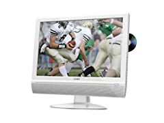"""Coby 22"""" LCD HDTV with Built-in DVD"""