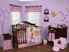 Lola Fox and Friends Crib Bedding Set- 3 Piece