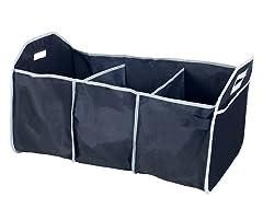 3 Bin Car Trunk Organizer With Bonus Cold Storage Bag