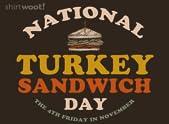 Turkey Sandwich Day