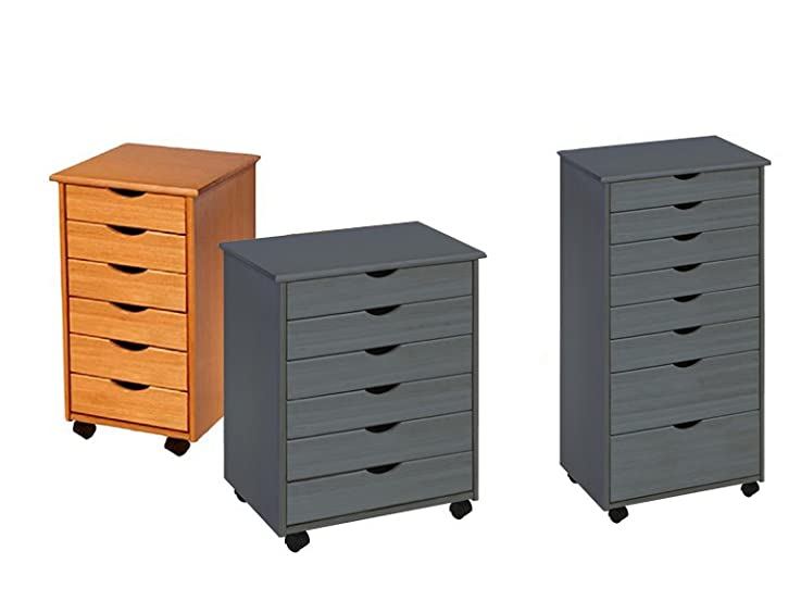 Adeptus Rolling Carts-3 Styles, 2 Colors