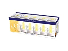 Northpoint Flamesless LED Tealights (24 Pack)