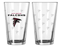 Falcons Pint Glass 2-Pack