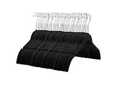 Zober 60-Pack Velvet Hanger