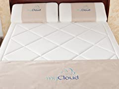 myCloud 10'' Memory Foam Mattress-Queen