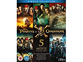 Pirates of the Caribbean 5 Movie Collection