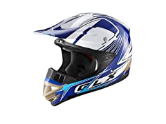 GLX  XP10-GL-S GLX Adult Off-Road Helmet