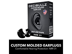 Decibullz - Custom Molded Earplugs, 31dB Highest NRR