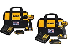 DeWALT 20V MAX Drill Drivers (Your Choice)