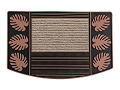 Palm Bronze Door Mat