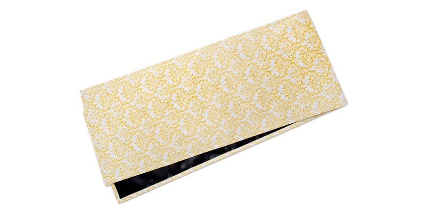 small table runner small damask table runner yellow 2374