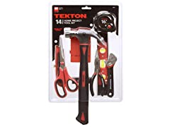 Tekton Home Project Tool Set, 14-Piece