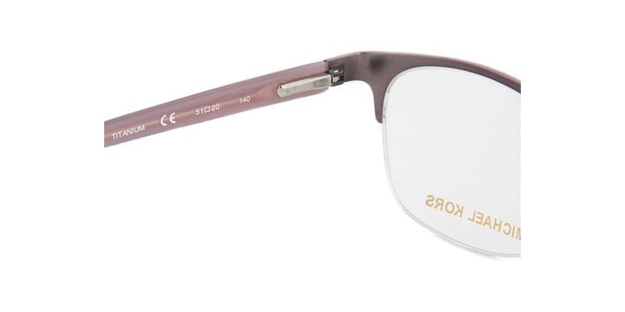 How Do I Know What Glasses Frame Size I Am : Michael Kors MK743 Eyeglasses Frame - Fashion