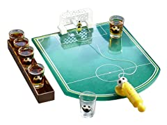 Shot Glass Soccer Drinking Game Set