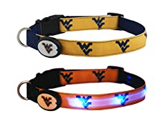 Dog-E-Glow West Virginia University Collar