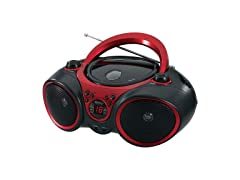 JENSEN CD-490 Portable Stereo CD Player with AM/FM Radio