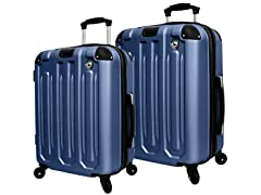 Mia Toro ITALY Regale 2PC Spinner Luggage