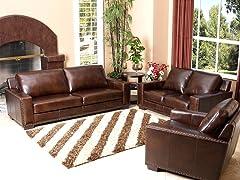 Bradford Leather 3-Pc Set