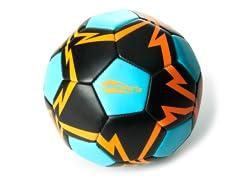 OGLO Soccer Ball- Blue/Orange