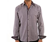Lucky Luciano Vineyard Slim Fit Casual Shirt