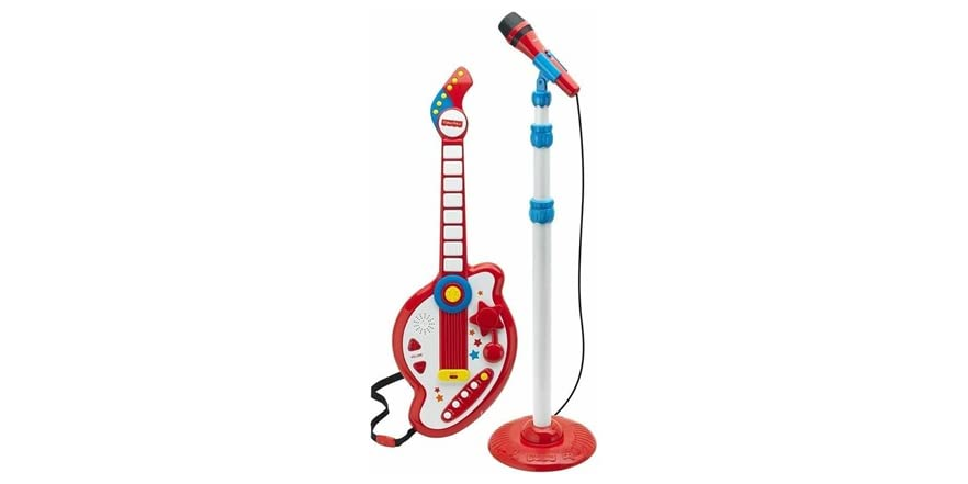 REIG Ultimate Spider-Man Guitar and Microphone Set