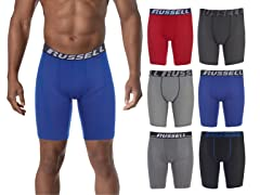 Russell Perf. Assorted Boxer Brief 6Pk
