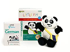 Volume 1 w/ Flashcards & Panda - German