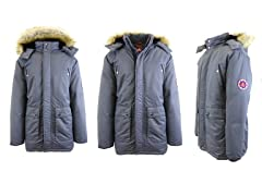 Mens Down Parka Jacket