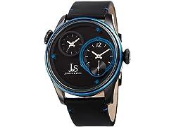 Joshua & Sons Men's Quartz Dual Time Watch