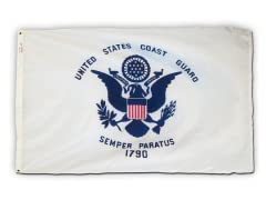 Coast Guard 3' x 5' Nylon Flag