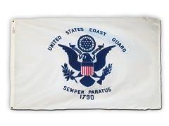 Coast Guard 3' x 5' Nylon Flag