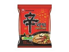 Nongshim Shin Ramyun Noodle Soup, 20pk