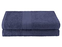 Superior  Ringspun Cotton 2-PC Bath Sheets