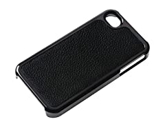 iCoat No Extinction Hard Case w/ Leather for iPhone 4/4S