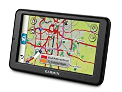 "Garmin 5"" GPS with Lifetime Maps & Traffic"