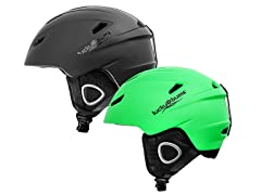Lucky Bums 15 Powder Series, In-Mold Snow Sport Helmet
