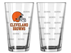 Browns Pint Glass 2-Pack