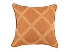 Classic Malibu Diamond Rust 17X17 Pillow