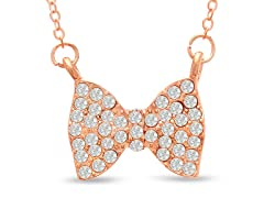 Swarovski Elements Bow Necklace