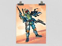 """Bounty Hunter Hero"" Matte Poster"