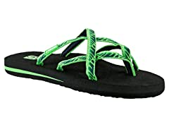 Teva Women's Olowahu Sandals - Green (9)