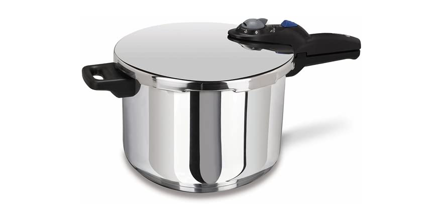 15 Psi Electric Pressure Cooker Casa Essentials 6 Qt SS Pressure Cooker - Home & Kitchen