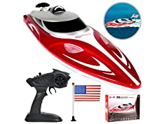 Contixo T1 with Remote Control Racing Speedboat