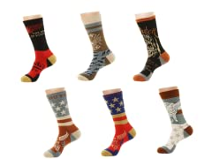 Von Dutch Men's Assorted Socks 6-Pairs