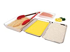 Tovolo S/4 Food Prep Trays - Stainless