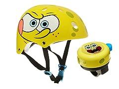 Spongebob Squarepants Helmet W/Bell Combo (5+Yrs)