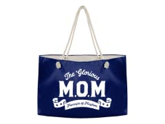 """The Glorious M.O.M."" Weekender Tote"