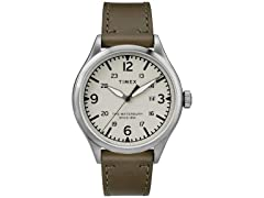 Timex The Waterbury Leather Mens Watch