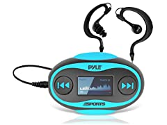 Waterproof 4GB MP3 Player/FM Radio