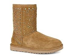 Ugg Women's Classic Short Flora P Boot